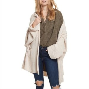 Free People Low Tide Cardigan - X-Small